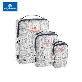 美国EAGLE CREEK 逸客防水旅行收纳袋19新品印花超轻衣物打理包