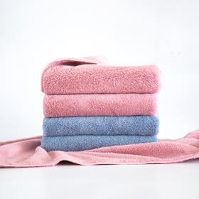 笠吉净软绵绵面巾4件套装黑科技面料毛巾柔软舒适吸水速干洗脸巾易清洗