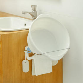 H&3 浴室可折叠壁挂式脸盆架
