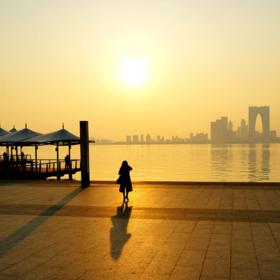 【周日特价9.9】相约金鸡湖,开启环湖之旅,看最美日落。