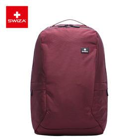 Swiza百年瑞士情侣双肩电脑包男女背包大容量商务旅行包学生书包