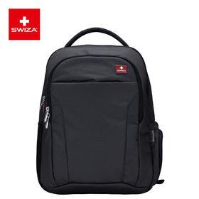 Swiza百年瑞士经典男士电脑包商务休闲通勤防泼水双肩包学生书包