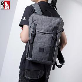 Inuk双肩包男时尚潮流韩版青年旅行背包男士休闲电脑包大学生书包