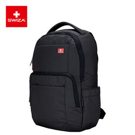 Swiza瑞士双肩包大容量电脑包旅行背包商务包男中学生书包防泼水