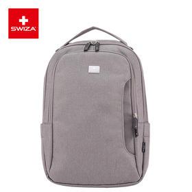 Swiza百年瑞士商务轻巧背包时尚休闲双肩包大容量电脑包新款
