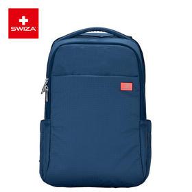 Swiza百年瑞士轻巧男士双肩包时尚休闲旅行商务背包防水尼龙书包
