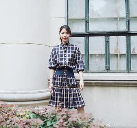 MSYEEYEE 19AW 格纹连衣裙