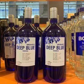 深蓝大瓶伏特加1.75L