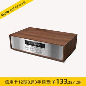 JBL MS401 迷你音响 CD机 蓝牙音响 收音机 台式音响 桌面音响 闹钟 USB 枫木白