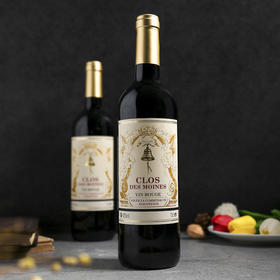 【法国原瓶原装进口】科乐曼金铃铛干红葡萄酒  1箱(750ml/瓶*6瓶)