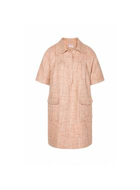 Nudy Dress 粗紡真丝连衣裙