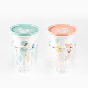 【好巢wondernest】玻璃许愿茶隔杯丨茶水分离泡茶杯丨耐热双层玻璃杯带盖 迪士尼合作款