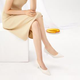 XSURI纯色尖头高跟鞋   精湛工艺,又轻又软不磨脚,四色可选