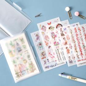 创意贴纸套装学生手账素材包女diy装饰贴纸手账贴画贴纸