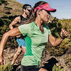 西班牙进口BUFF户外马拉松男女款遮阳空顶帽超轻越野跑步帽