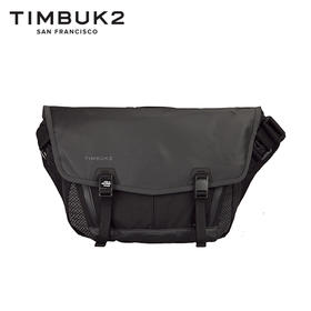 TIMBUK2黑色特别款信使包邮差包潮流街头死飞包单肩包男