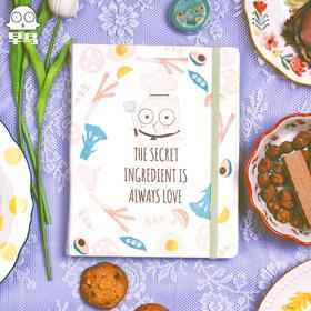 趁早早鸟系列美味手册菜谱食谱记录笔记本原创可爱插画菜单手帐本健康饮食三餐减肥瘦身减脂食谱计划本