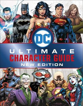 预订(60天发货)DC Comics Ultimate Character Guide New Edition,DC漫画人物指南新版