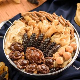 福盈门大盆菜 佛跳墙礼盒3kg 加热即食海鲜熟年节饭(托尼可)