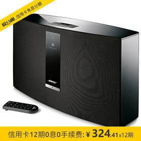 Bose SoundTouch 30 III 无线音乐系统-黑色 蓝牙/WIFI音箱/音响
