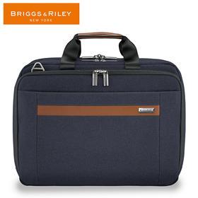 BRIGGS&RILEY布雷格雷利公文包可扩展商务电脑包15英寸斜跨手提包