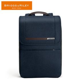 BRIGGS&RILEY蓝色/灰色商务系列休闲双肩包可扩展双肩包