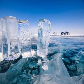【贝加尔湖】西伯利亚蓝冰季,行走在世界最深湖泊表面,7天梦幻之旅 !