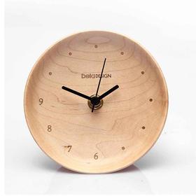本来设计About Time原木闹钟
