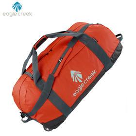 美国eaglecreek大容量手提防水可折叠拖轮旅行袋 橘色XL号