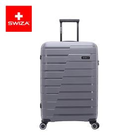 Swiza拉杆箱经典热销条纹旅行箱可登机20/26/30寸大容量行李箱