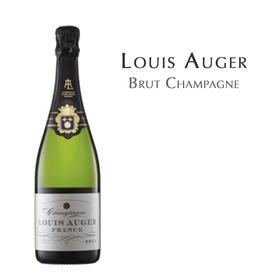 旋钻天然型香槟,法国 香槟区 Louis Auger Brut, France Champagne AOC