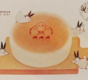 PPP-JOYEUX企鹅兔兔可爱明信片组五张入  by橘改