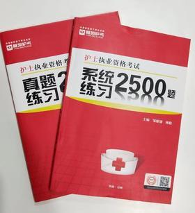 护士执业资格考试系统练习+真题练习两本套