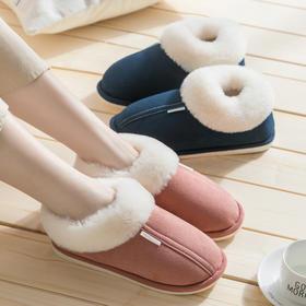 居家保暖拖鞋 全包跟 高密度蓄热保暖 包跟包脚裸 防滑设计