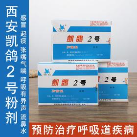 凯鸽2号二号鸽子赛鸽信鸽呼吸道清理专用专治鸽药正品急慢性药