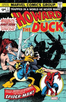 霍华德怪鸭 Howard The Duck Facsimile Edition