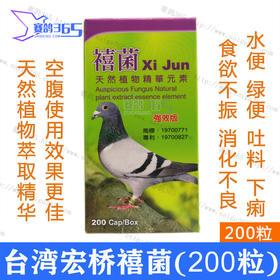 台湾宏桥鸽药禧菌水便绿便吐料下痢食欲不振肠道感染粪便成形紧迫