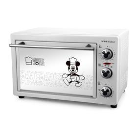【精选】荣事达慕斯风情电烤箱RK-22B | 镜面玻璃 颜值超高 | 一件装【生活家电】