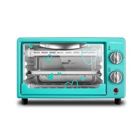 【精选】荣事达mini电烤箱RK-09H1 | 电木手柄 旋钮控温 | 一件装【生活家电】