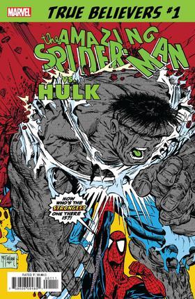 蜘蛛侠对绿巨人 True Believers Spider-Man Vs Hulk
