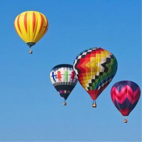 【热气球】安吉浪漫之旅,300米高空自由飞行体验!