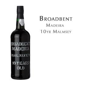 璞洛十年马姆齐利口葡萄酒 Broadbent 10yr Malmsey, Madeira Portugal