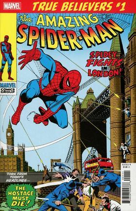 蜘蛛侠 True Believers Spider-Man Spidey Fights In London