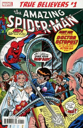 蜘蛛侠 True Believers Spider-Man Wedding Aunt May And Doc Ock