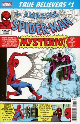 蜘蛛侠 True Believers Spider-Man Spider-Man Vs Mysterio