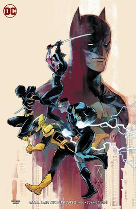 变体 蝙蝠侠和局外人 Batman And The Outsiders