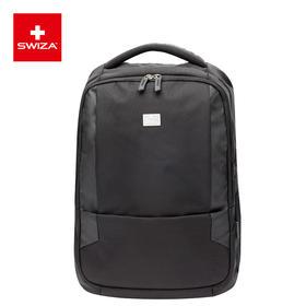 Swiza瑞士男防泼水双肩包大容量笔记本电脑包旅行背包商务包