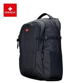 SWIZA瑞士刀双肩包男士背包大容量休闲商务旅行15.6英寸电脑包 布鲁克街