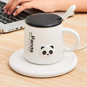 【喝水从此不烫嘴】杰凯诺加热杯垫家用电热水杯加热器恒温55度办公室桌面宿舍充电自动保温热牛奶杯子咖啡杯加热神器底座器