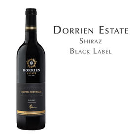 德灵酒庄南澳大利亚设拉子红葡萄酒 Dorrien Estate Black Label Shiraz, South Australia